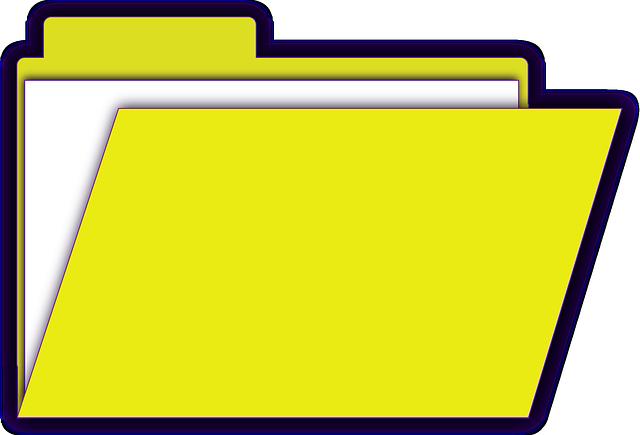 Datei in Ordner