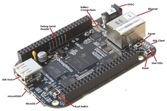 Der BeagleBone Black, eine Raspberry Pi alternative?