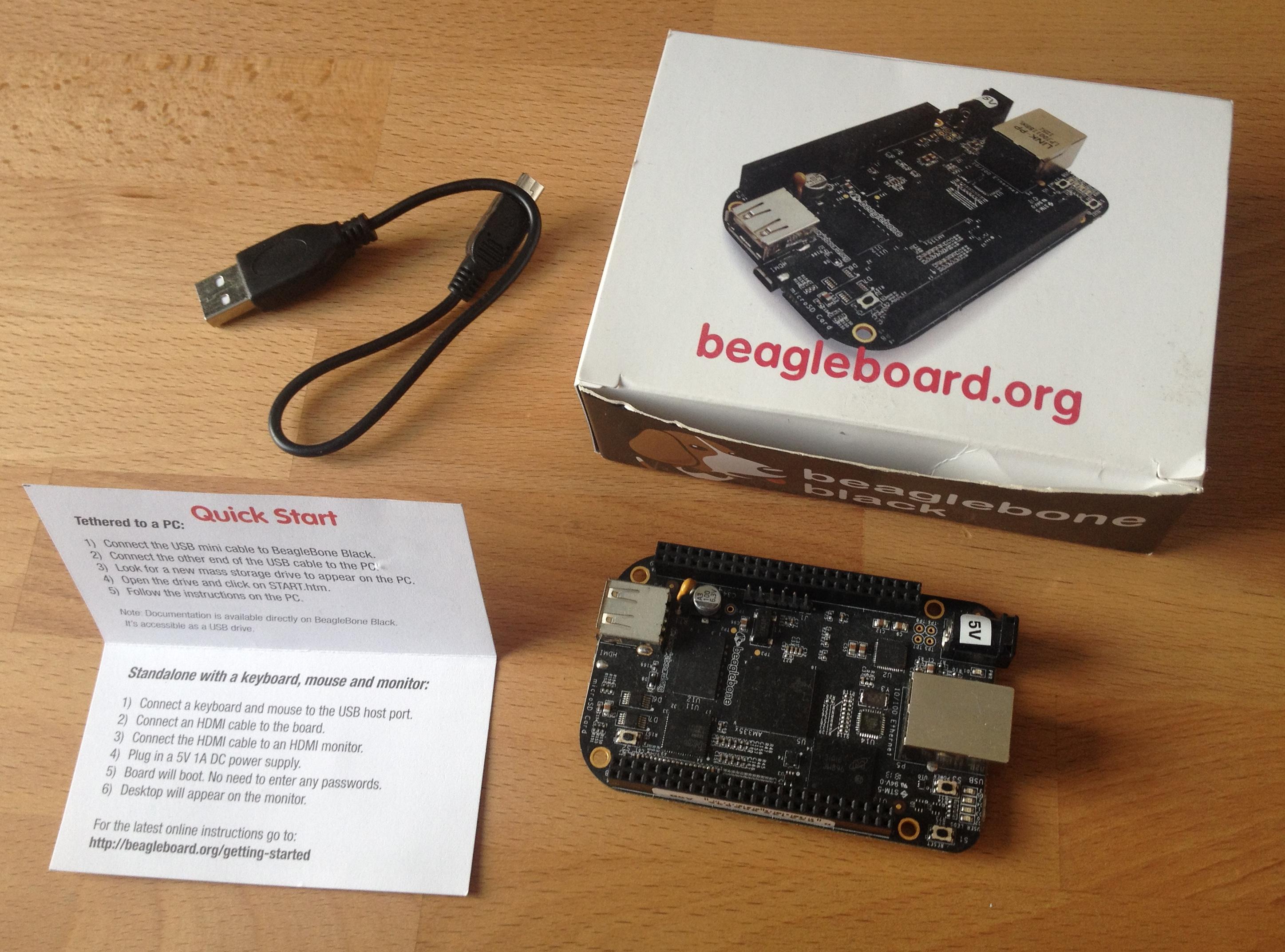 Zubehör für den BeagleBone Black