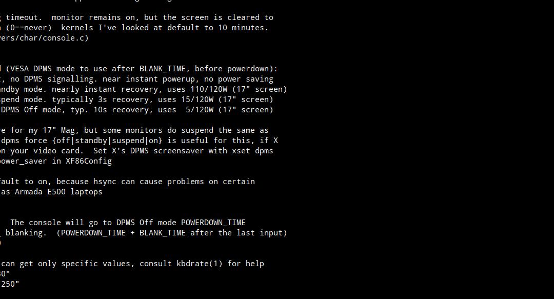 Bildschirmtimeout bei Raspberry Pi deaktivieren