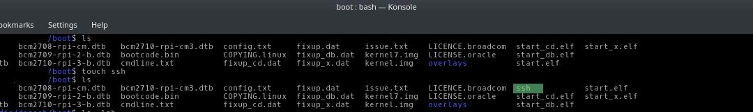 Raspbian ssh aktivieren