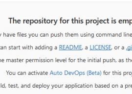 Gitlab leeres Repository nach Serverumzug